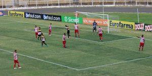 Náutico e Criciúma empatam pela Copa São Paulo
